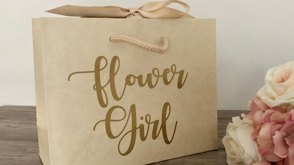Ivory Boutique Style Gift Bags