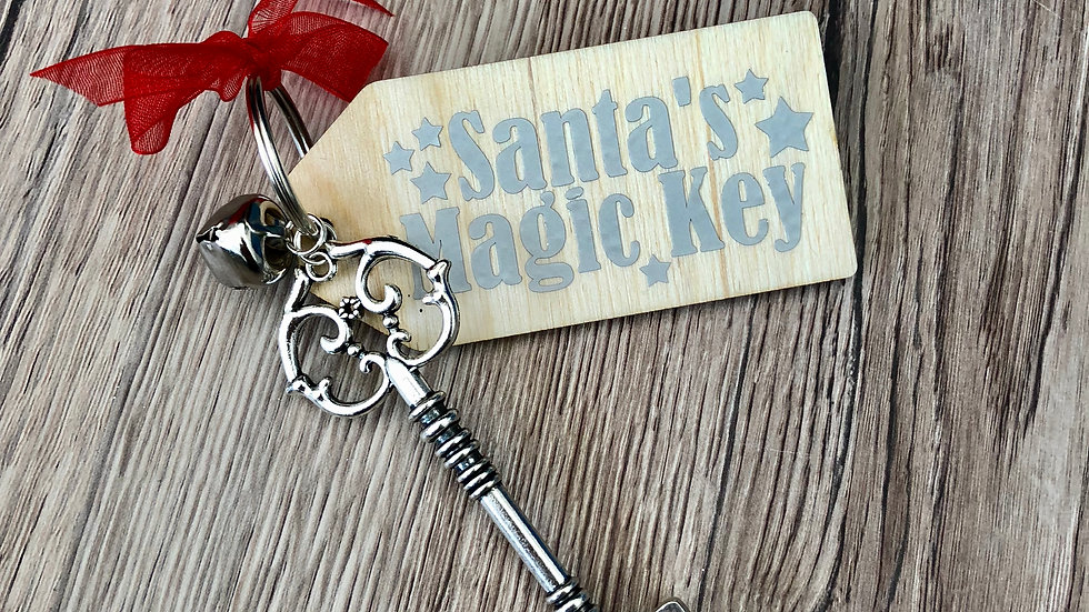 Santa's Magic Key Christmas Eve Gift
