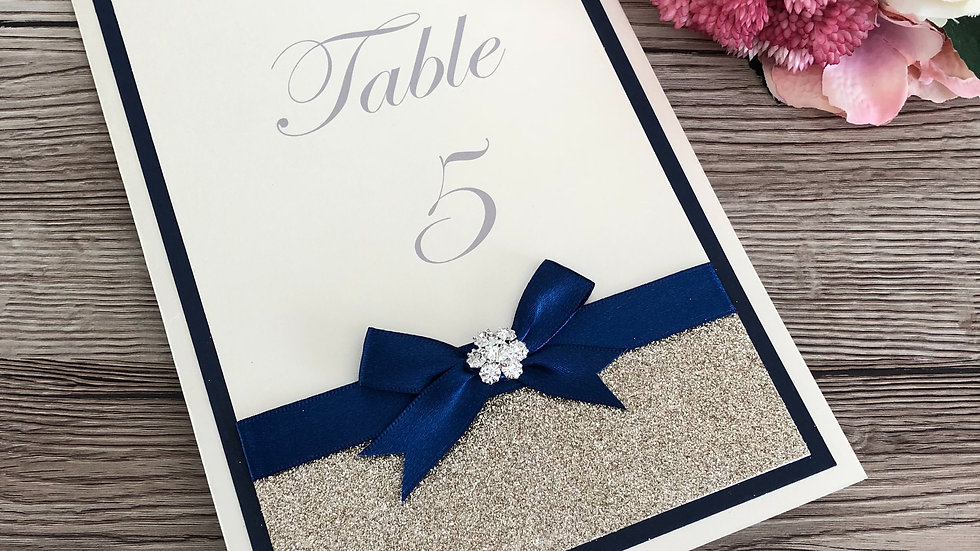 Holly Style Wedding Table Names or Number Cards