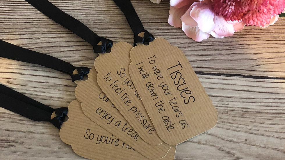 Pick your own Groom Box Gift Tags