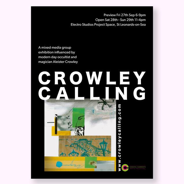 Crowley Exhibition Poster