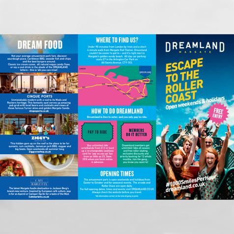 Dreamland Summer Leaflet