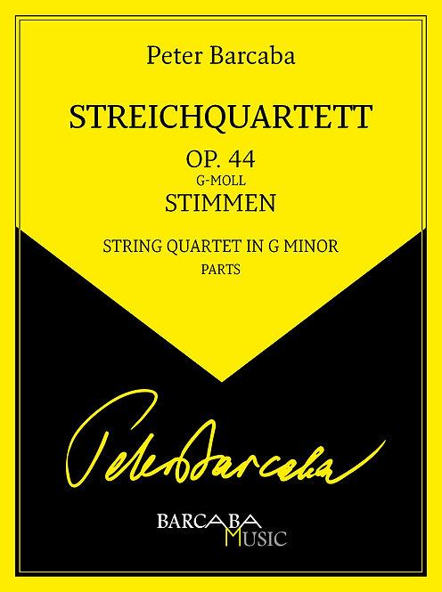 Streichquartett Op. 44 (Stimmen)