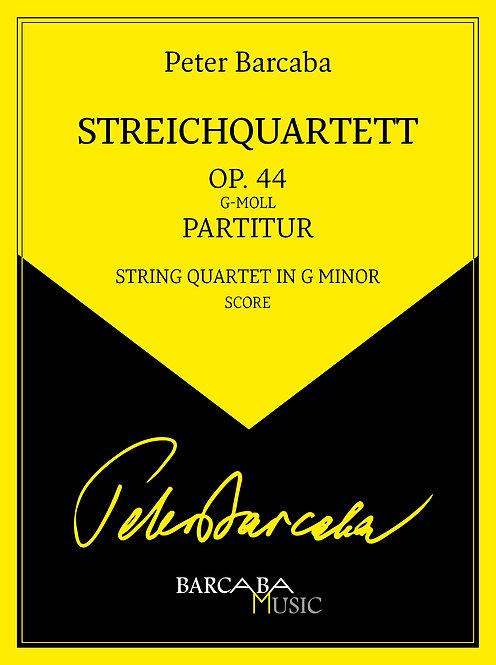 Streichquartett Op. 44 (Studienpartitur)