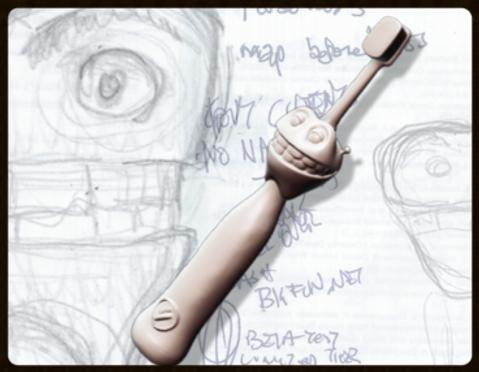 BlueToothbrush Prototype