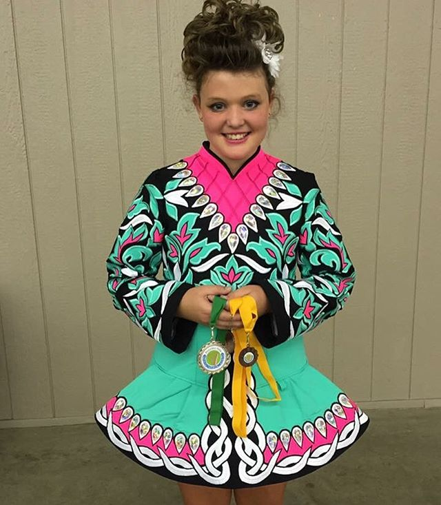 THIS beautiful lady won 2nd in PW treble jig and 3rd in PW Slipjig..