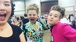 These girls are FIERCE, supporting their pal Lena at her first feis!!! 3rd place trad set, well done