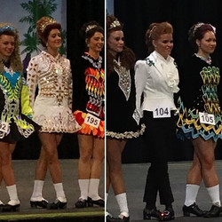 An EPIC day of dancing from our favorite gingerdancers!!!!!! MAEVE and COLLEEN, you are an inspirati