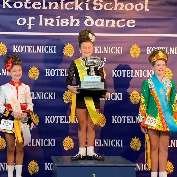 STELLA!!!!! Winning both prelim u10 comp