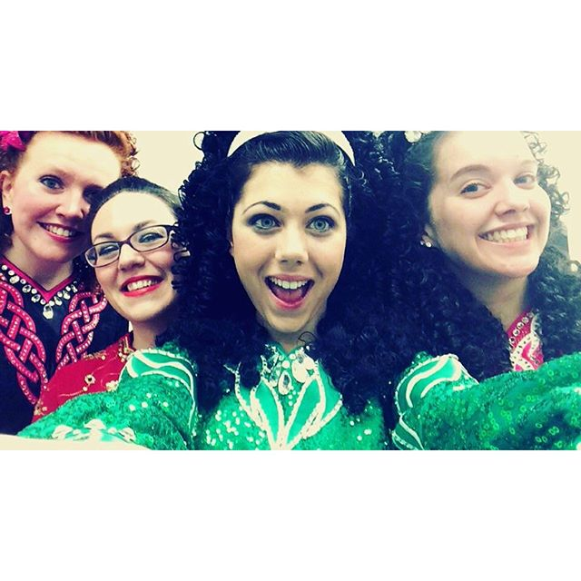 Irish dancers are bonded forever! Friends for life