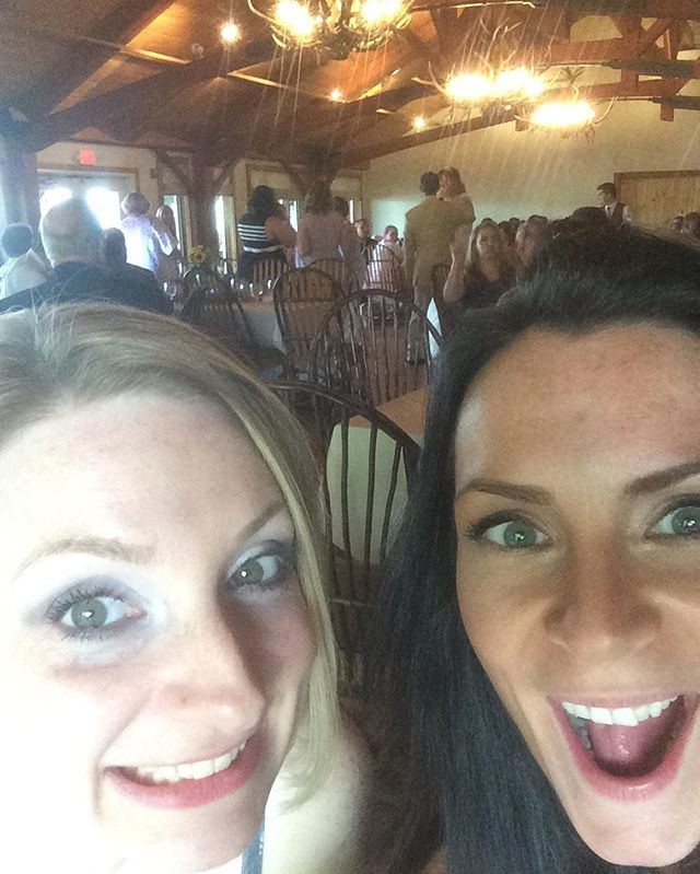 ROCKIN out at Miss Maura's wedding!!!!! Congratulations, Maura and Jay!!! 😍❤️❤️❤️❤️