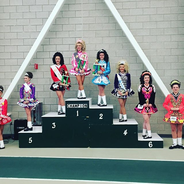 1st place U13 prelim for Abby!!!!! #goodwinacademy #team #pushyourself