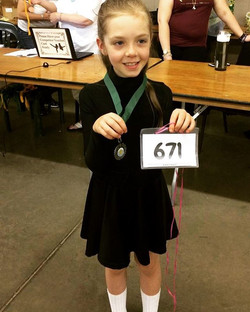 THIS talented lady won 2nd place in her reel at her FIRST FEIS!!! #goodwinacademy #firstfeis