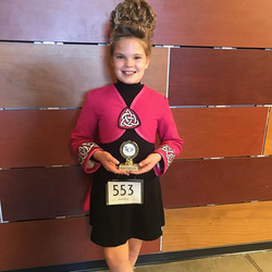 Way to go,  Brooke! 3rd in trad set and