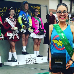 🎉🎉🍀😍👯SECOND PLACE CATLYN!!! Congrats!!!!! #goodwinacademy #buffalofeis
