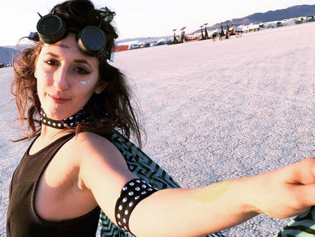 My Spirit Animal found me at Burning Man