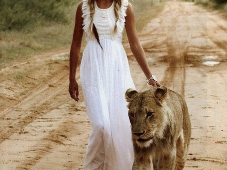 A WILD WOMAN IS NOT A GIRLFRIEND. SHE IS A RELATIONSHIP WITH NATURE.