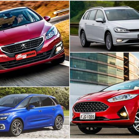 Adeus: estes 10 carros se despediram do Brasil no 1º semestre de 2019