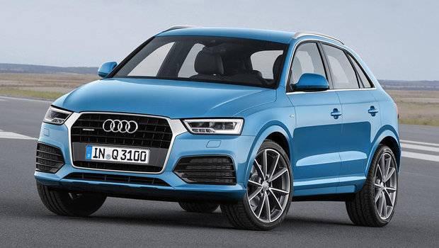 carro azul Audi Q3