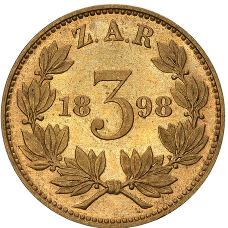 South African Legends: The 1898 Sammy Marks Gold Tickey