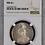 Thumbnail: German East Africa: 1891 One Rupie NGC Certified MS61