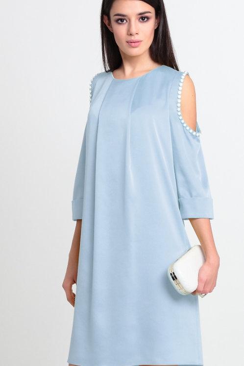 Платье небесное жемчуг