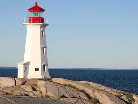 Lighthouses help lead us the way through the dark....