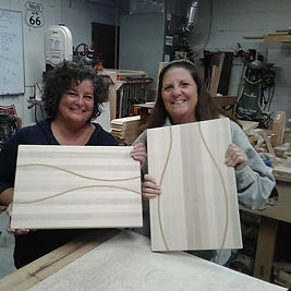 The 1st _Woman in the Woodshop_ class is