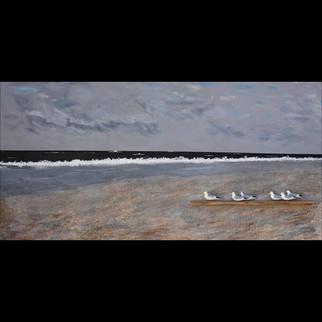 WSterchak - WatchingtheShore5 - mixedmedia - cm4x60x120 - usd1695 - 2020 - ARToberFESTGalv