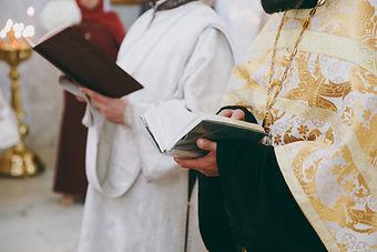 ceremonia de bautismo