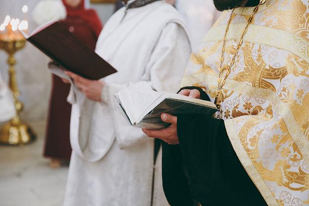 Cerimônia de batismo