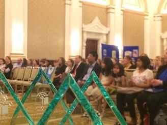 Ava Palasz at the Green Schools Awards Ceremony