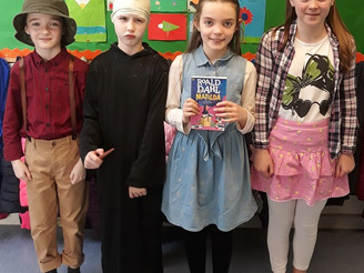 World Book Day in 3rd/4th Class