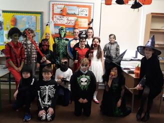 5th Class Hallowe'en Party