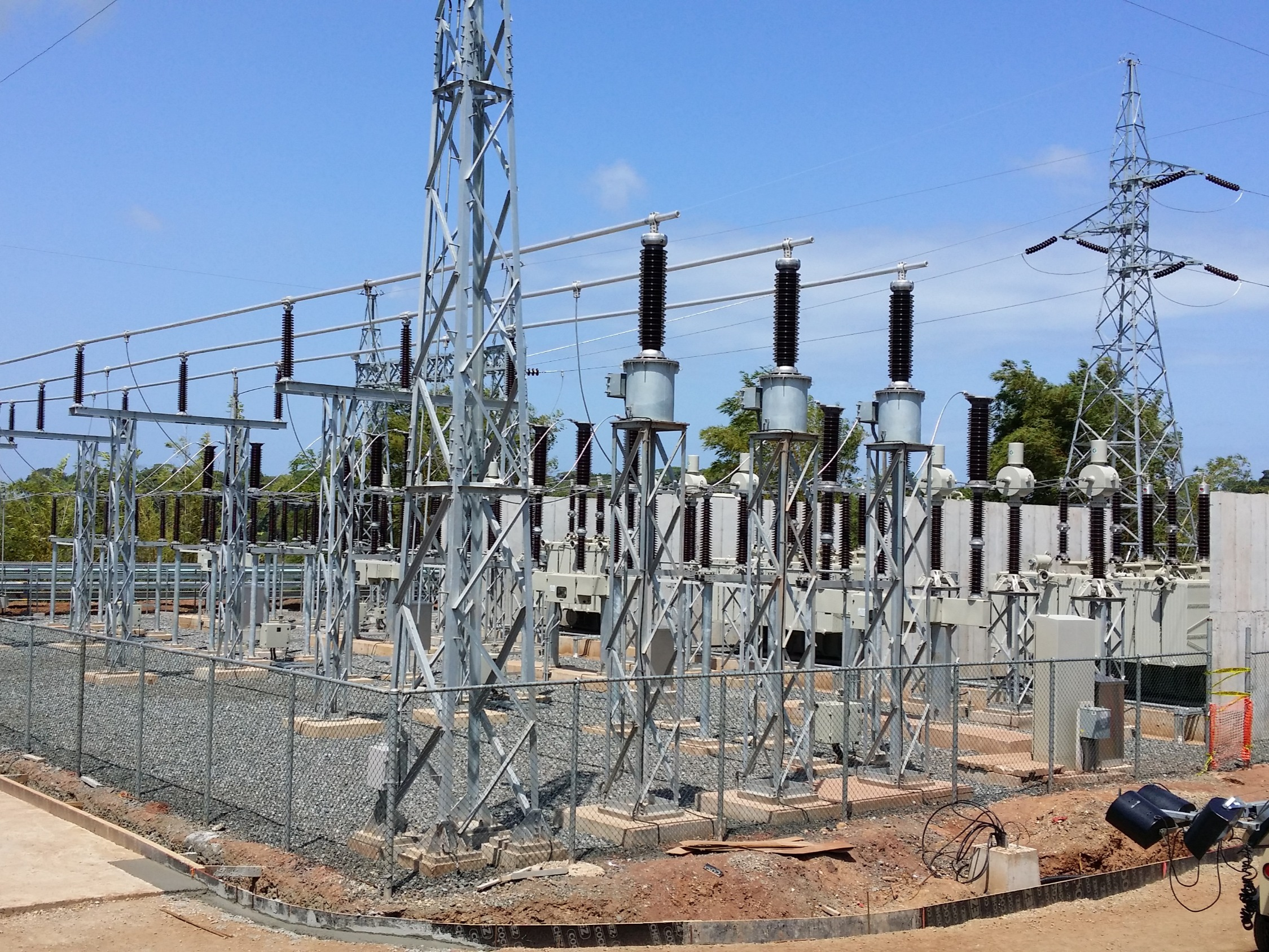 JINRO Power 57.8MW PPS, 115KV S/S