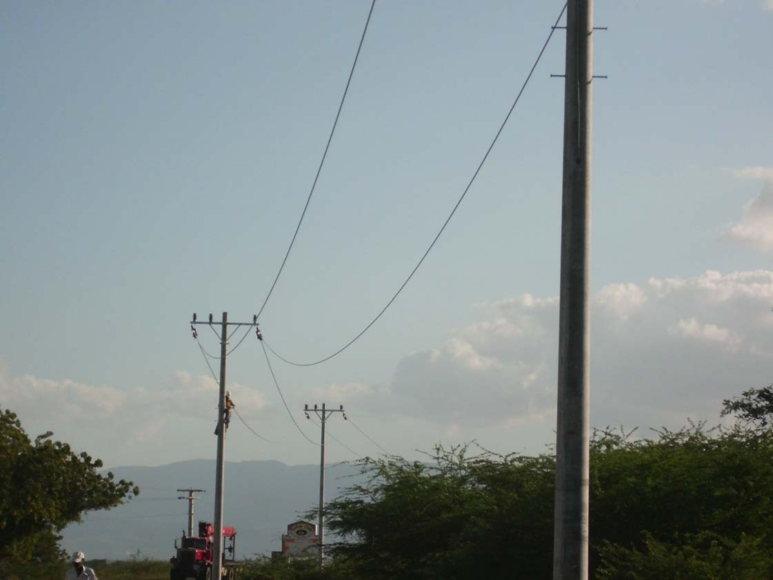 Haiti 24kV Distribution Line Works