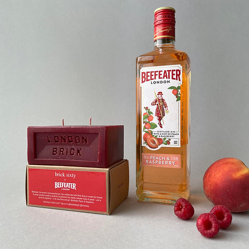 Beefeater candle