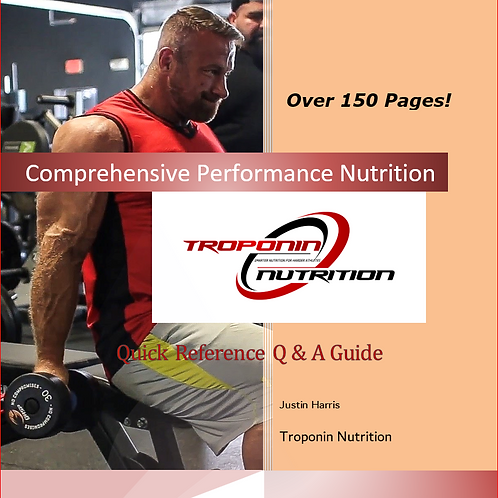 Comprehensive Performance Nutrition