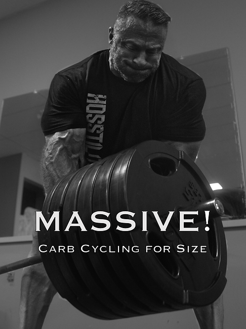MASSIVE! Carb Cycling For Mass