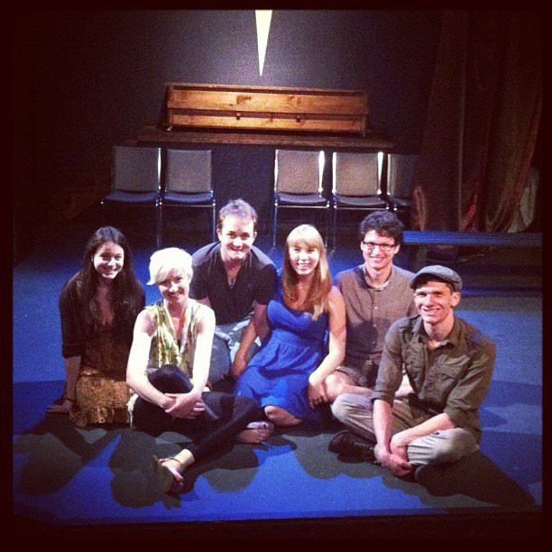 """Cast of """"Darling""""-Identity Theatre Co."""