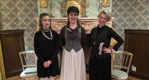 Sarah Allyn Althen, Michaela Voit, Erika Jenko