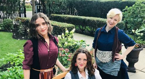 Sarah Allyn Althen, Victoria Hines, Erika Jenko