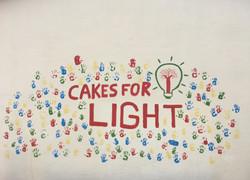 Le mur Cakes for Light (en 2017)