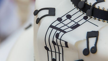 Musical Wdding Cake