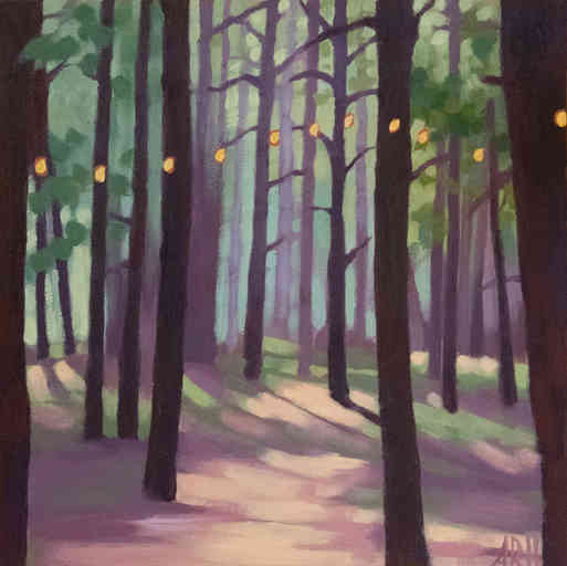 SOLD - A Mist in the Trees