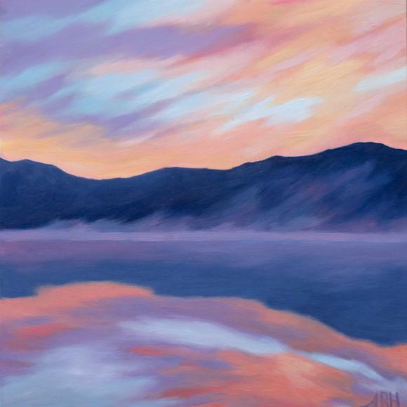 Sunrise on a Hidden Lake