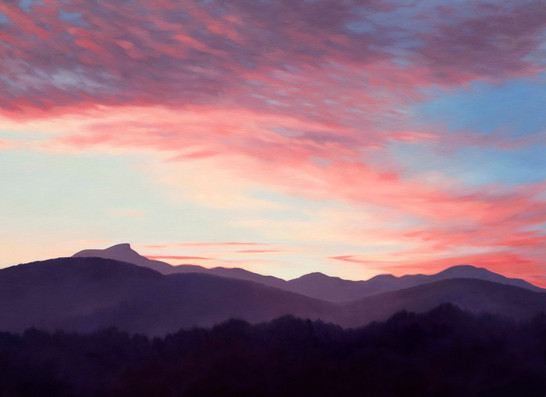 Sunrise Over Camels Hump