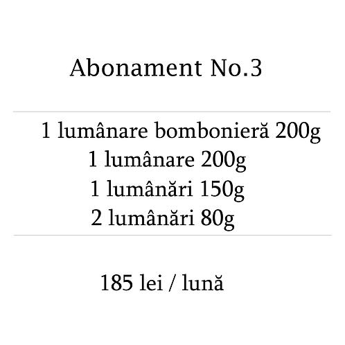 Abonament No.3