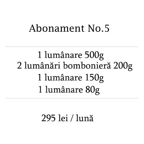 Abonament No.5