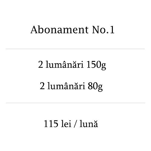 Abonament No.1